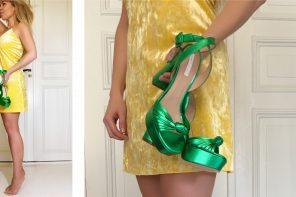 Spring shoes: Platform heels