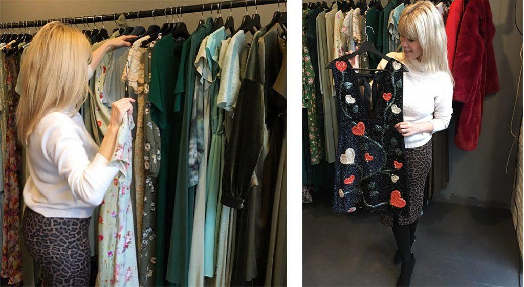 bd7f2218 Paljetter og glitter er de mest populære kjolene hos Fjong nå som vi går  inn i festsesongen. Ellers i året er lange pastellkjoler og blomsterprint  en hit.